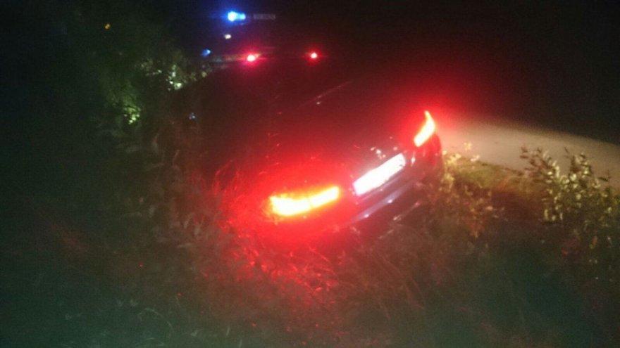 Podlaski OSG nuotr./Lenkijoje sulaikyti vogti BMW