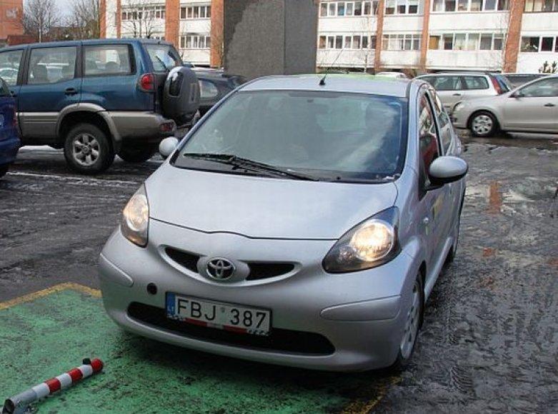 """Elektromobilis """"Toyota Aygo"""""""