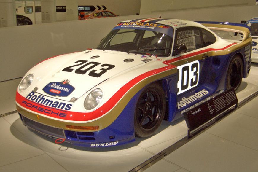 """Porsche 961"", pagamintas ant legendinio ""959"" platformos"