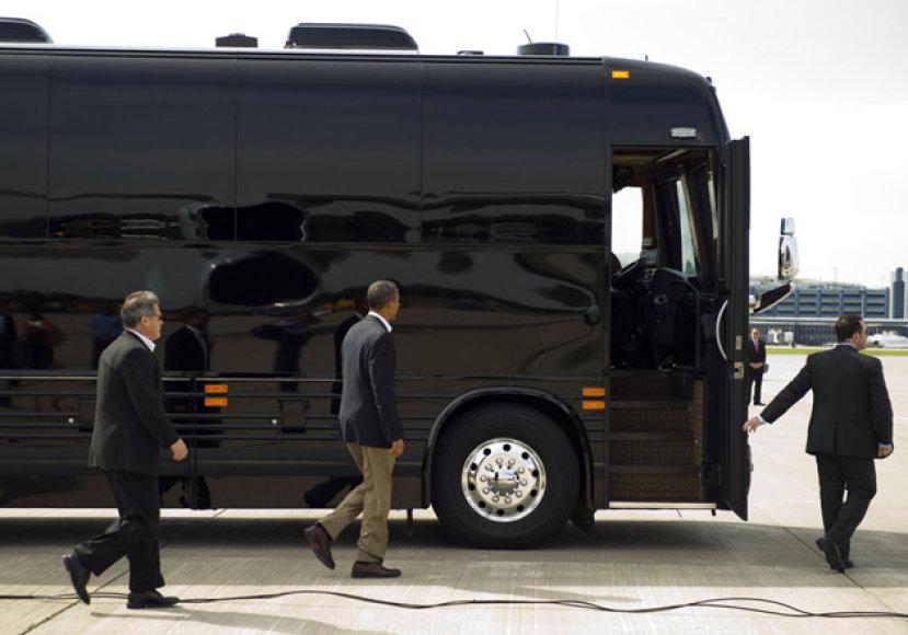 Baracko Obamos autobusas