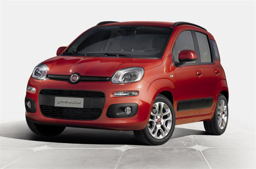 """Trečios kartos """"Fiat Panda"""""""