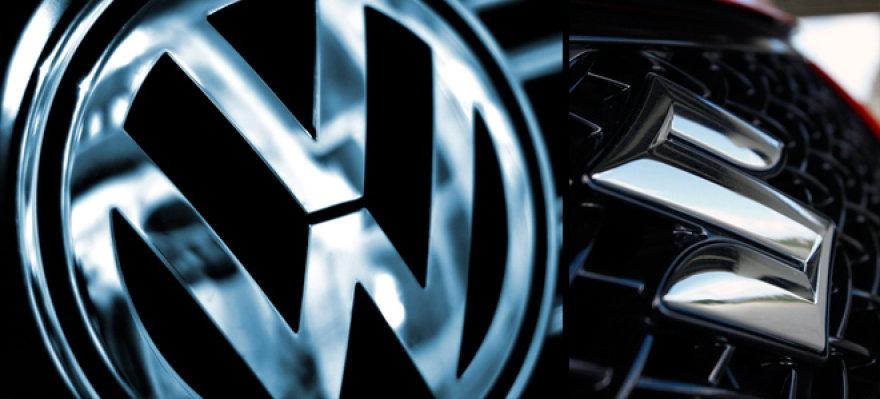 """""""Volkswagen"""" ir """"Suzuki"""""""