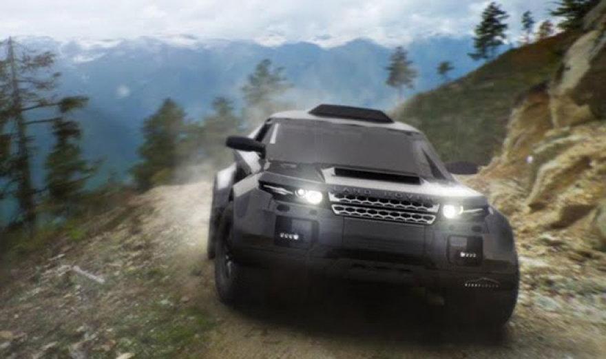 """""""Range Rover Evoque"""" ruoštas Dakaro raliui"""