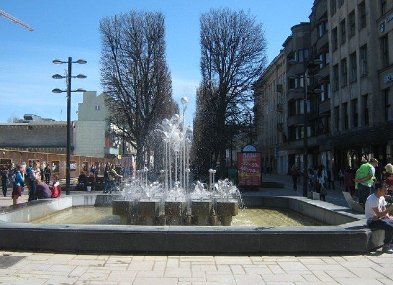 Fontanas Laisvės alėjoje
