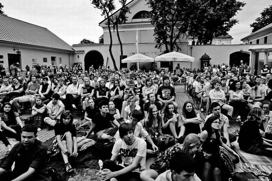 "Festivalio ""Senamiesčio žiogas"" publika"