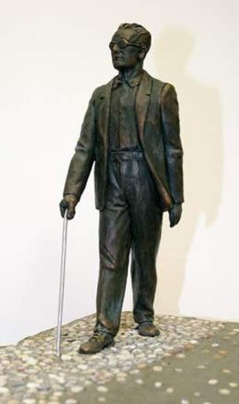Prano Daunio skulptūra