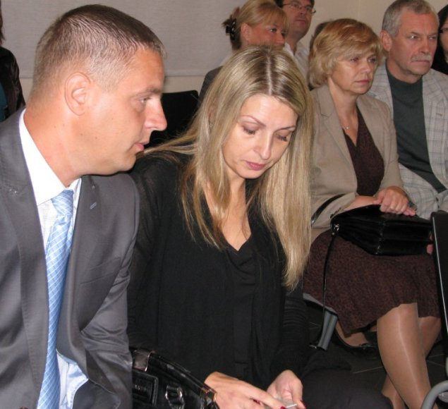 Egidijus ir Kristina Drėzai ir Valadareza Beleškienė su vyru