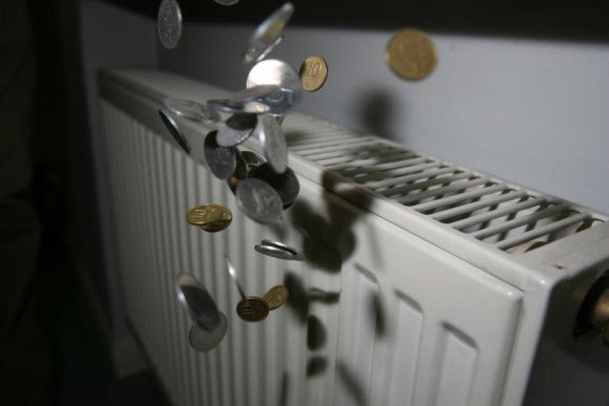 Mokesčiai už šildymą neįkandami vis didesniam būriui klaipėdiečių.