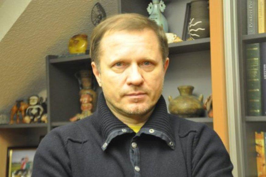 V.Puodžiūnas laikinai koordinuos miesto kultūrą.