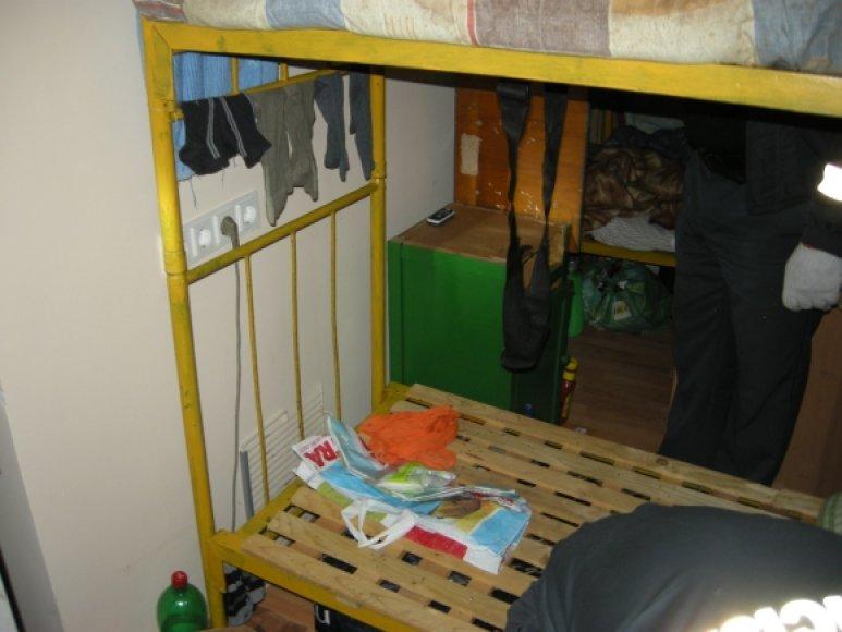 Pataisos namuose atliekama krata