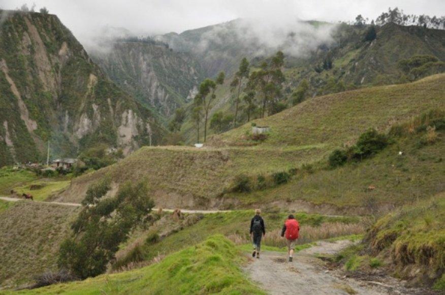 Žygis per kalnus