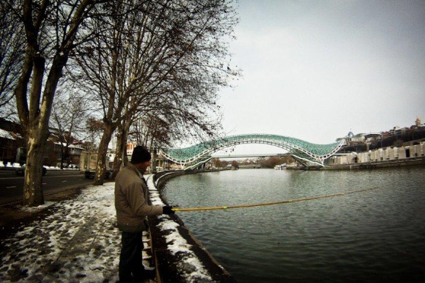 Naujasis tiltas simbolizuoja modernios valstybės pradžią