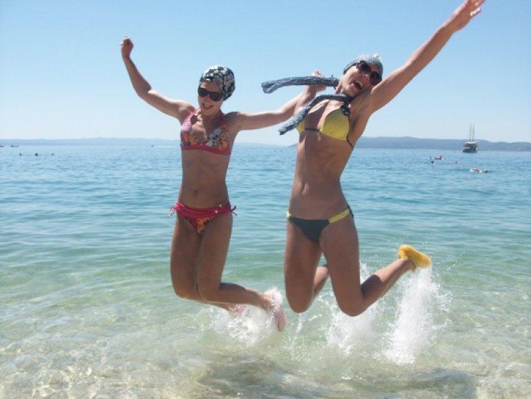 Linksmybės Adrijos jūroje