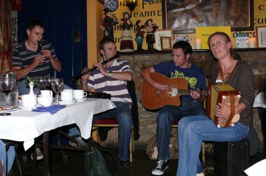 Airių muzikantai