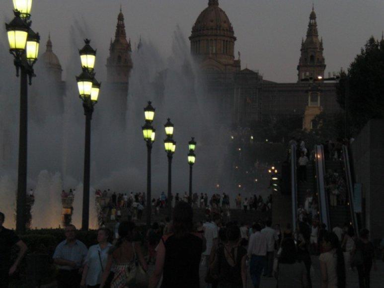 Barselonos fontanai