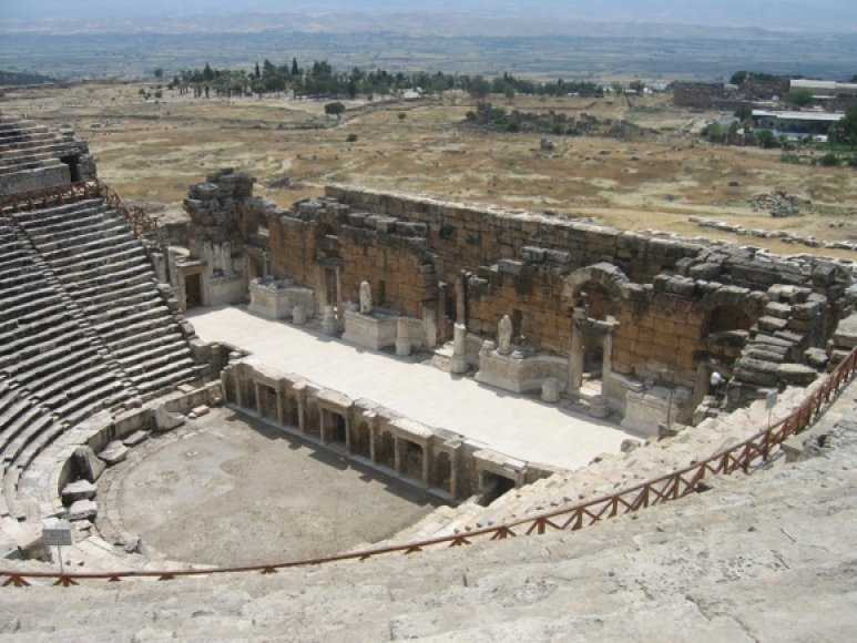 Hierapolio amfiteatras
