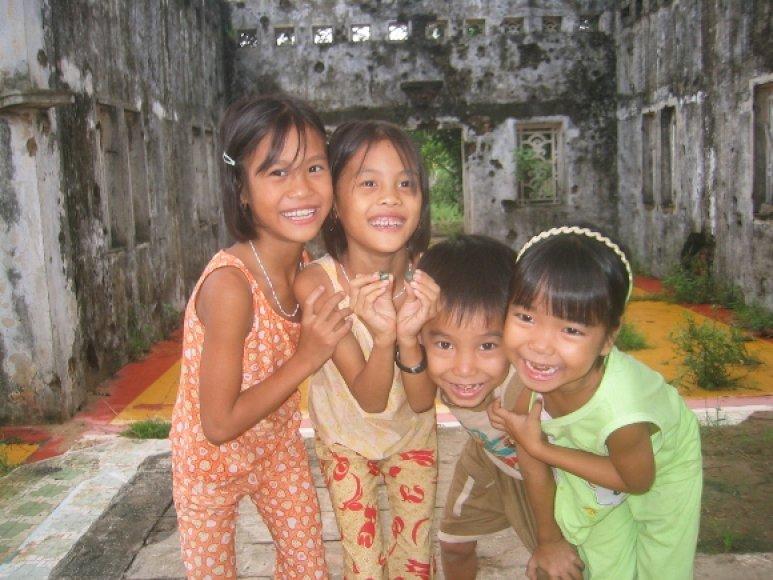 Vietnamiečių vaikai