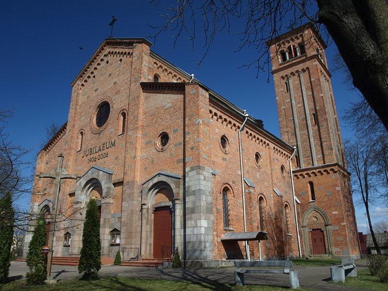 Lentvario bažnyčia