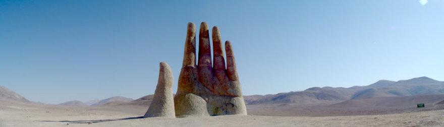 Dykumų ranka Atakamoje