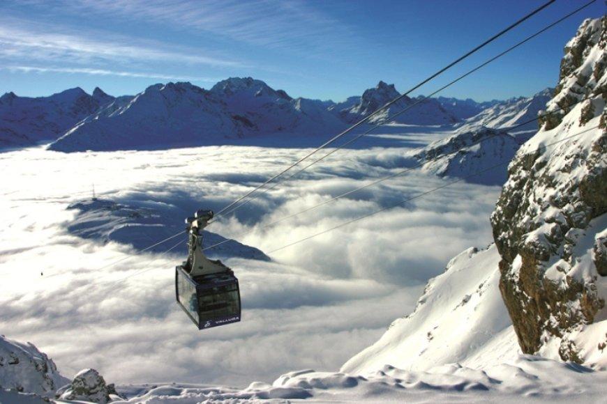 Nepakartojami vaizdai Austrijos kurortuose