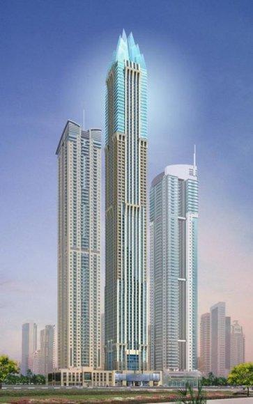 Dubajus stato aukščiausią pasaulio viešbutį