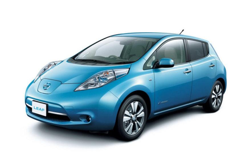 """2013-ųjų """"Nissan Leaf"""""""