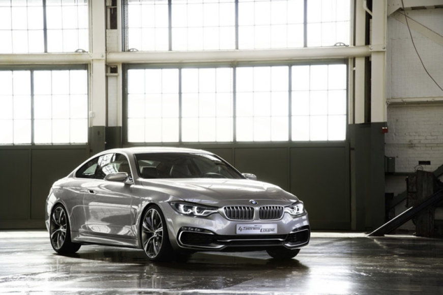 """""""BMW Concept 4 Series Coupe"""""""