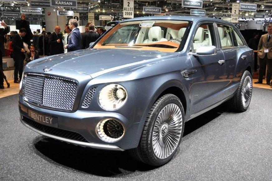 """Bentley EXP 9 F"" koncepcinis modelis"