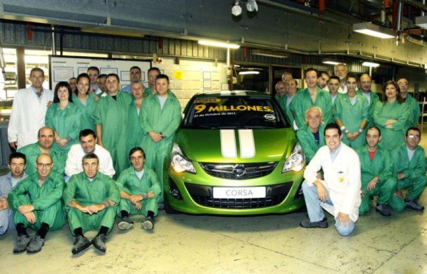 "Jubiliejinė ""Opel Corsa"""