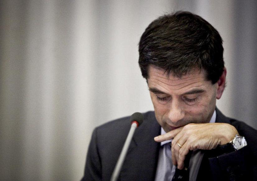 Министр финансов Португалии Витор Гашпар