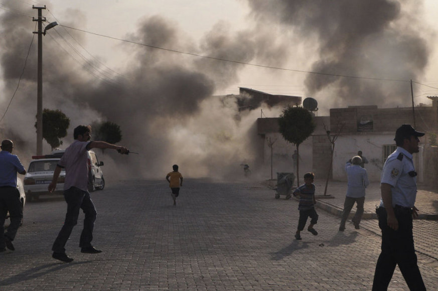 Почти половина погибших в этом году журналистов погибли в Сирии.