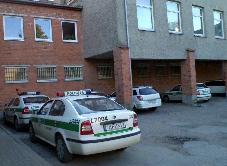 Šilutės policija po smurto šeimoje sulaikė buvusį bendradarbį