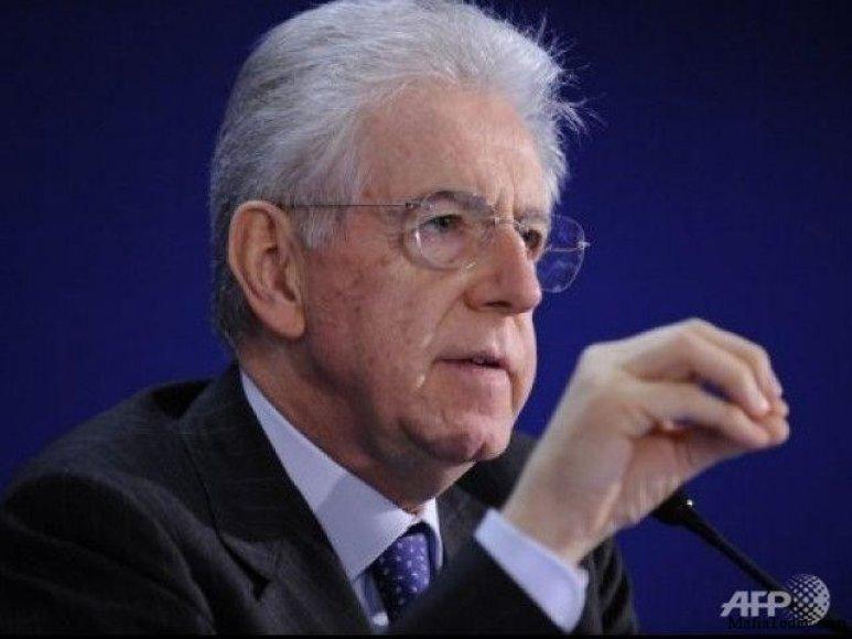Italijos premjeras Mario Monti tikisi išgelbėti Italiją nuo finansinio kracho.