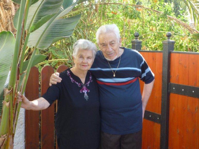 Jakovas Gurvičius su žmona Zosele susipažino slapstydadamasis nuo gestapo pas žemaičių ūkininkus.