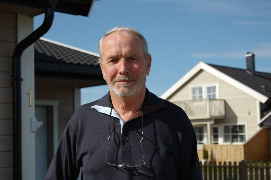 Larsas Nordby. Dovilės Tuskenytės nuotr.