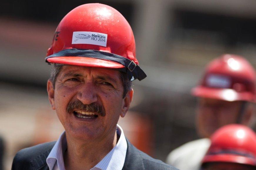 Brazilijos sporto ministras Aldo Rebelo