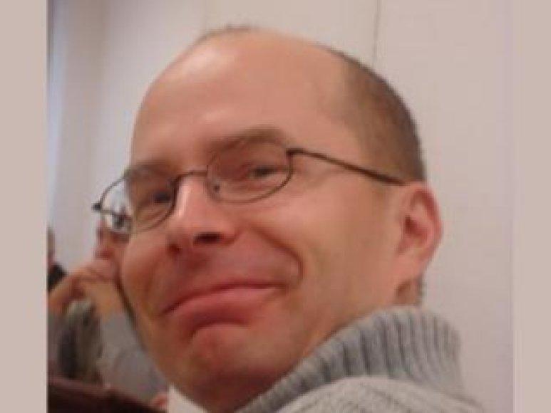 Istorikas Krzysztofas Buchowskis