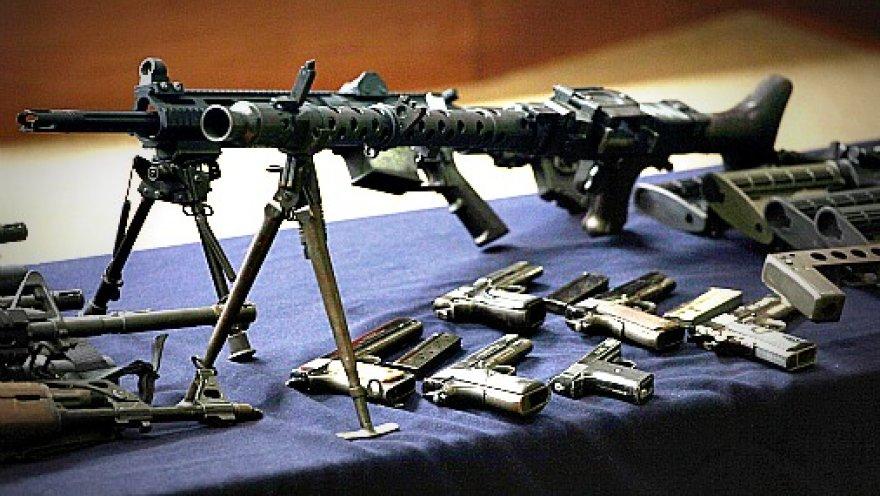 Схрон оружия. Фото иллюстративное.