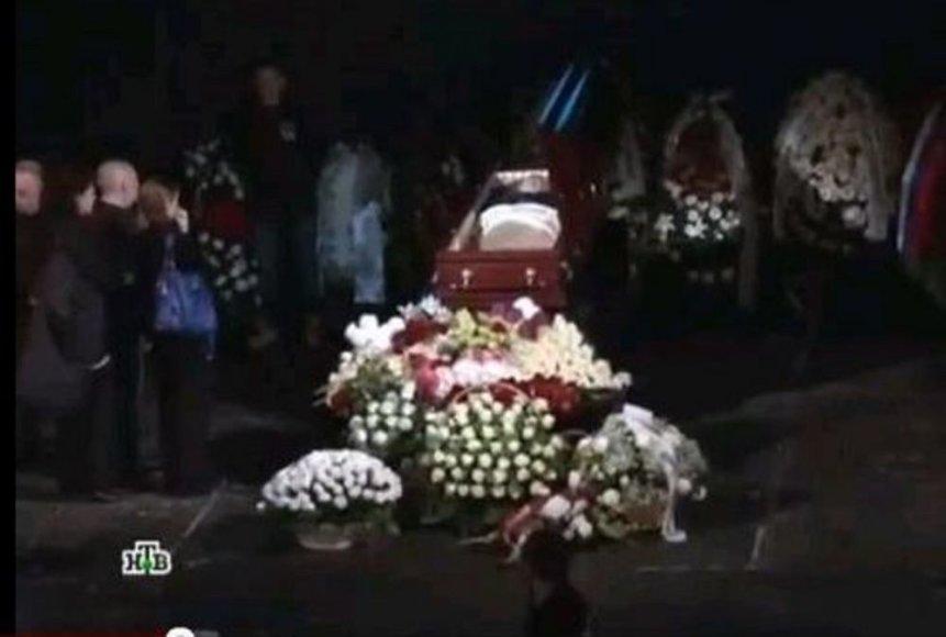 Похороны Марины Голуб