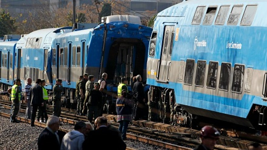 В Аргентине столкнулись два поезда