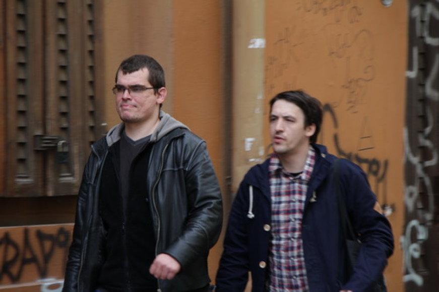 Emilis Vėlyvis ir Artūras Smolianinovas