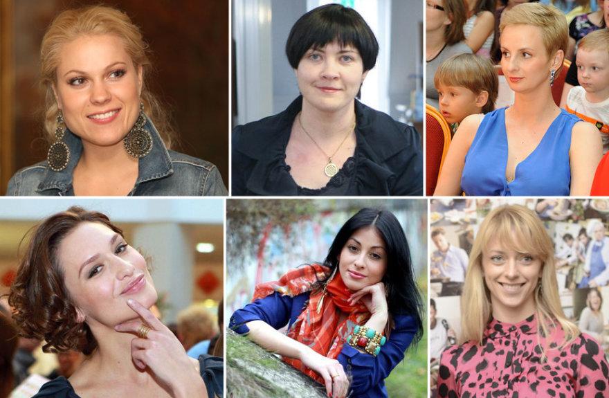 Nijolė Pareigytė-Rukaitienė, Edita Žiobienė, Ieva Norkūnienė, Monika Račiūnaitė, Šorena ir Renata Paleičikaitė-Polujanskienė