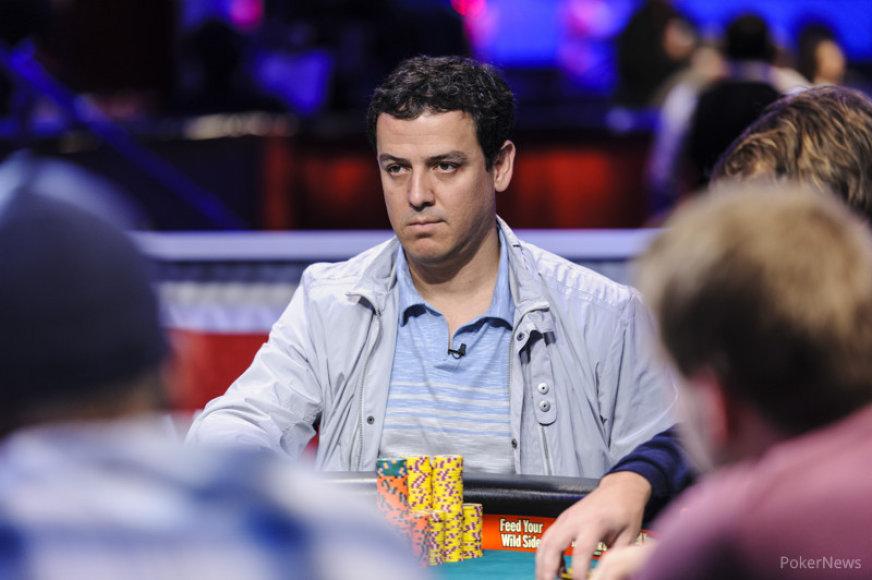 Carlosas Mortensenas / PokerNews nuotr.