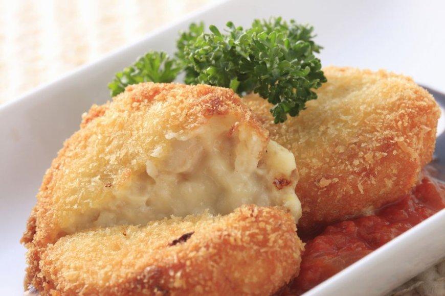 Sūrio ir riešutų maltinukai