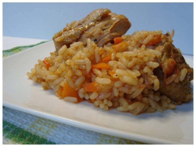 Ispaniški ryžiai su vištiena