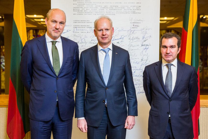 """Luko Balandžio / 15min nuotr./""""Carlsberg"""" vadovų vizitas Lietuvoje"""