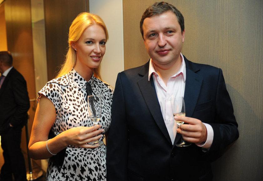 Aistė Šlapokaitė ir Antanas Guoga