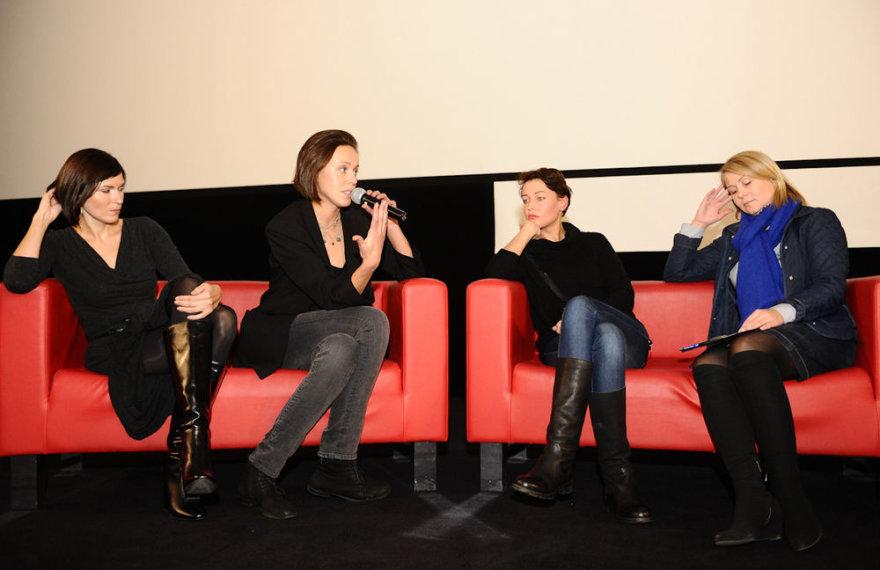 Iš kairės: Julija Maslinskaja-Ulvydienė, Meda Jonaitytė, Aistė Jasaitytė-Čeburiak ir Asta Dudurytė