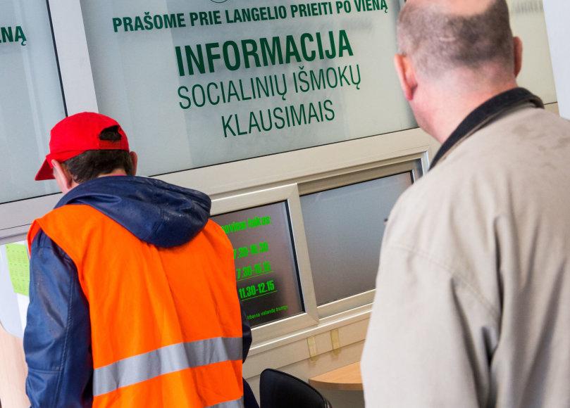Luko Balandžio / 15min nuotr./Vilniaus savivaldybės Socialinių išmokų skyrius