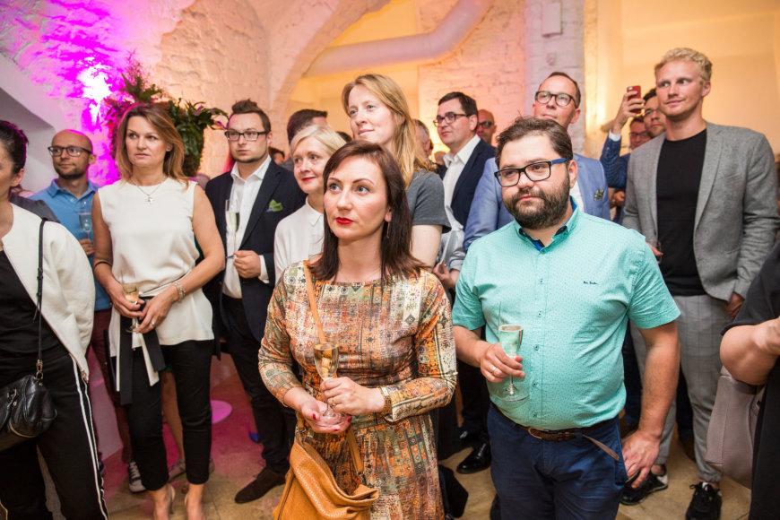 Luko Balandžio / 15min nuotr./Rafailas Karpis su žmona Diana